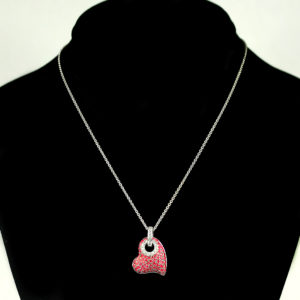 small heart necklace 1