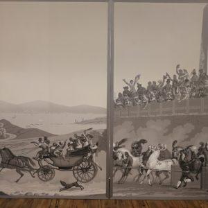 Framed Zubar Wallpaper Panels